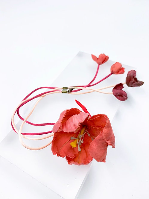 CORAL TULIP NECKLESS