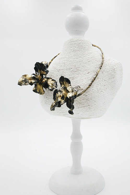 BLACK&GOLD ORCHID