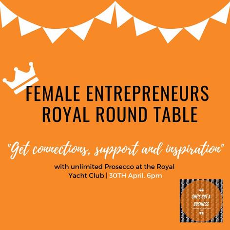 Female Entrepreneurs Royal Round Table