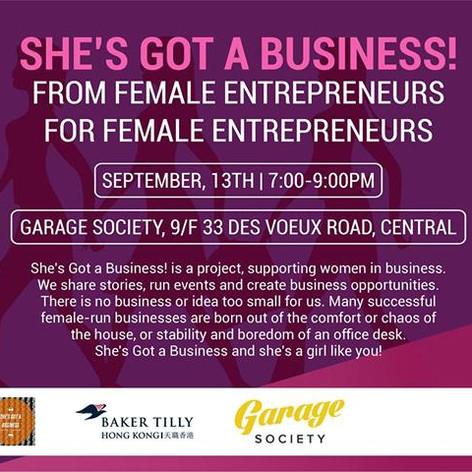 She's Got a Business! Talk