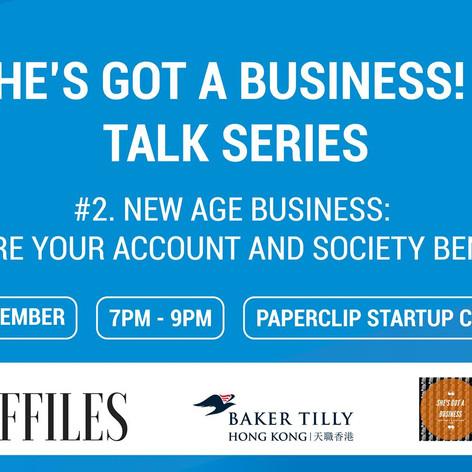 She's Got A Business! - Talk Series
