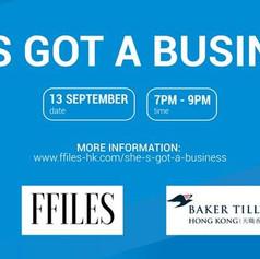 She's got a business! - Female Entrepreneurs Panel
