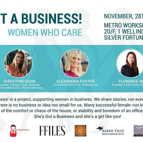 She's got a Business! - Women Who Care