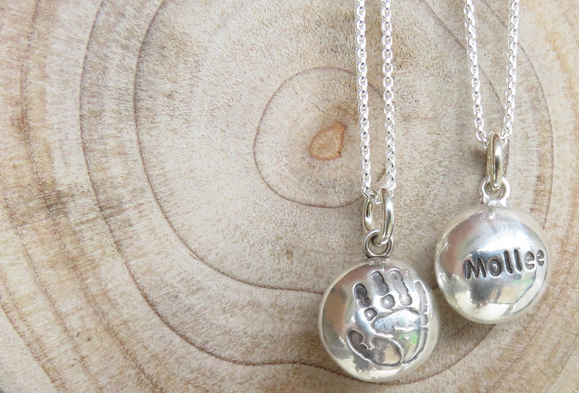 Hand or Foot Bubble Pendant without necklace