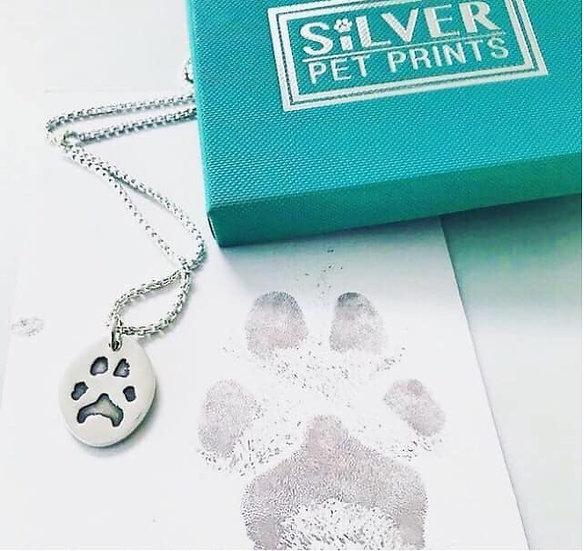 Pet Print Pendant without necklace