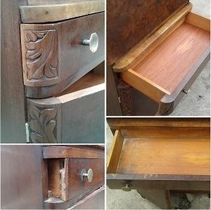 Restauração de móveis de madeira