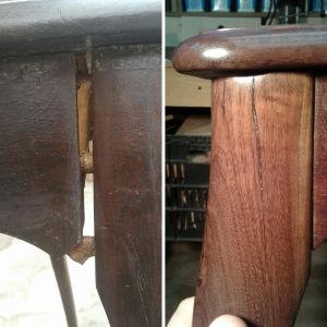 Restauro de móvel de madeira