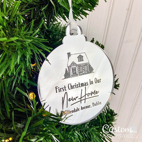 New Home Christmas Bauble