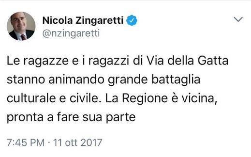 Nicola Zingaretti x #SaveZalib