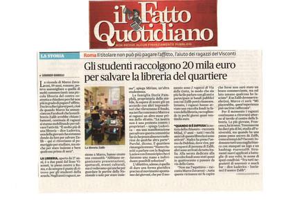 """Articolo """"Il Fatto Quotidiano"""""""