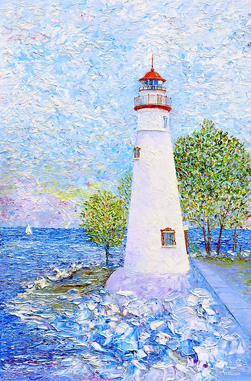 Marblehead Lighthouse Painting