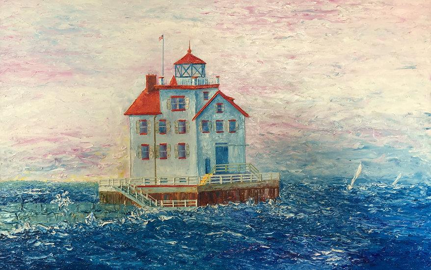 The Lorain Lighthouse