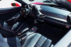 Ferrari 458 Innenraum