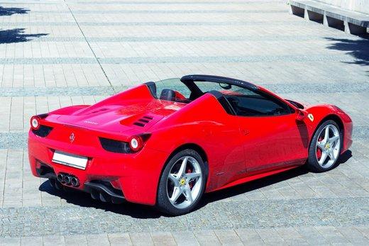 Ferrari 458 von hinten