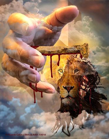 Is it a lion or is it Jesus