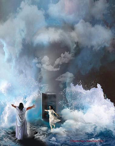 A door in the storm
