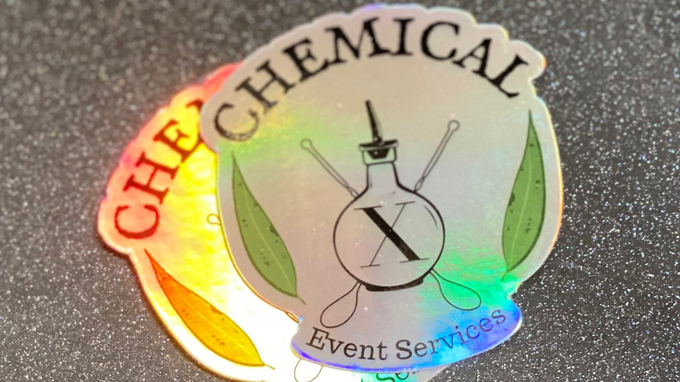 Chemical X Sticker
