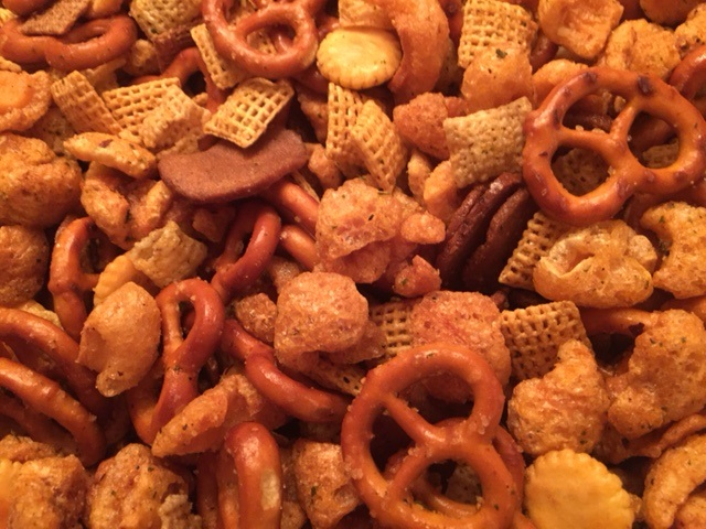"The Original - ""CRACK"" Mix with pork cracklins"