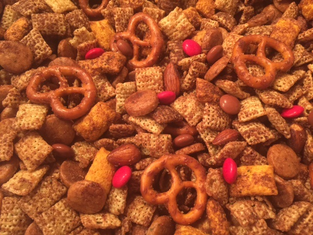 Cinnamon-Cocoa Crunch with chipotle & chocolate