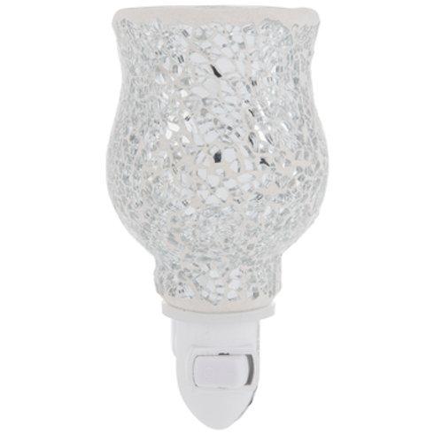 Silver Reflection Pluggable Fragrance Warmer