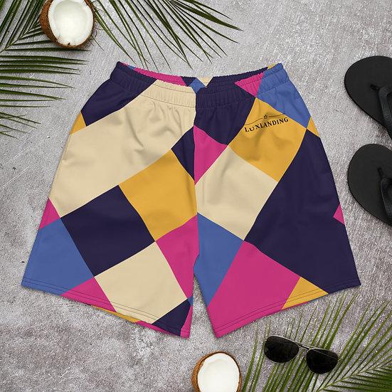 Cool Square's Men's Athletic Long Shorts