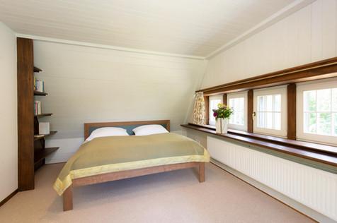 Schlafzimmer im Obergeschoss.