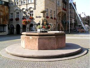 Marktbrunnen in Bückeburg