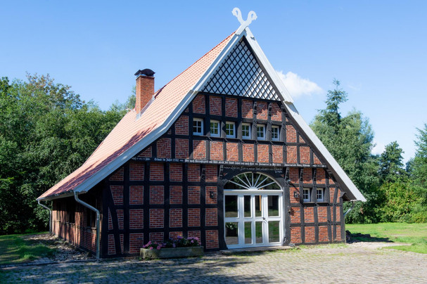 Ferienhaus-Waldhaus-Ankum-Fachwerkhaus