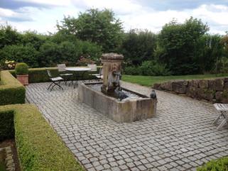 Privatgarten, Franken
