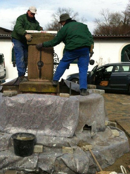 Brunnenaufbau