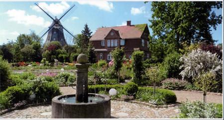 Park an der Mühle in Wyk