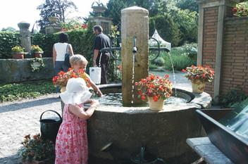 Brunnen Gartenausstellung Nonnenau