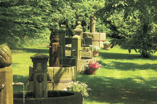 Sandsteinbrunnen Sammlung