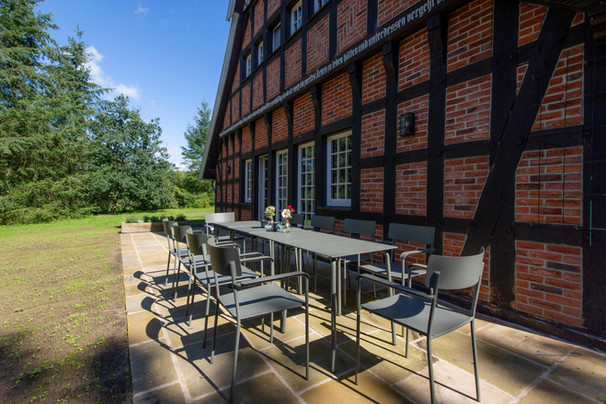 Ferienhaus-Waldhaus-Ankum-Terrasse
