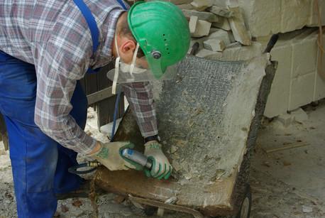 Sandstein-Restaurierung