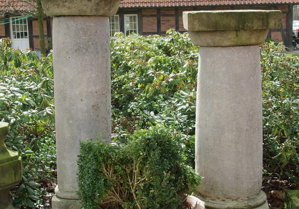 dekorative Sandsteinsäulen