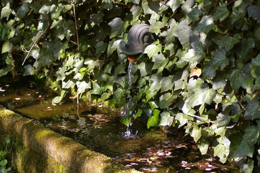 Bronzener Brunnenspeier