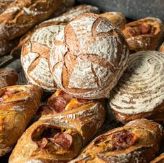 Pães de fermentação natural