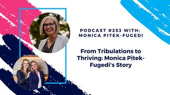 Episode 253 - From Tribulations to Thriving: Monica Pitek-Fugedi's Story