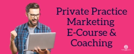 Photo of a man looking excited next to the text private practice paperwork package. Get your therapist paperwork and cousneling paperwork from Private Practice Startup E-course today!