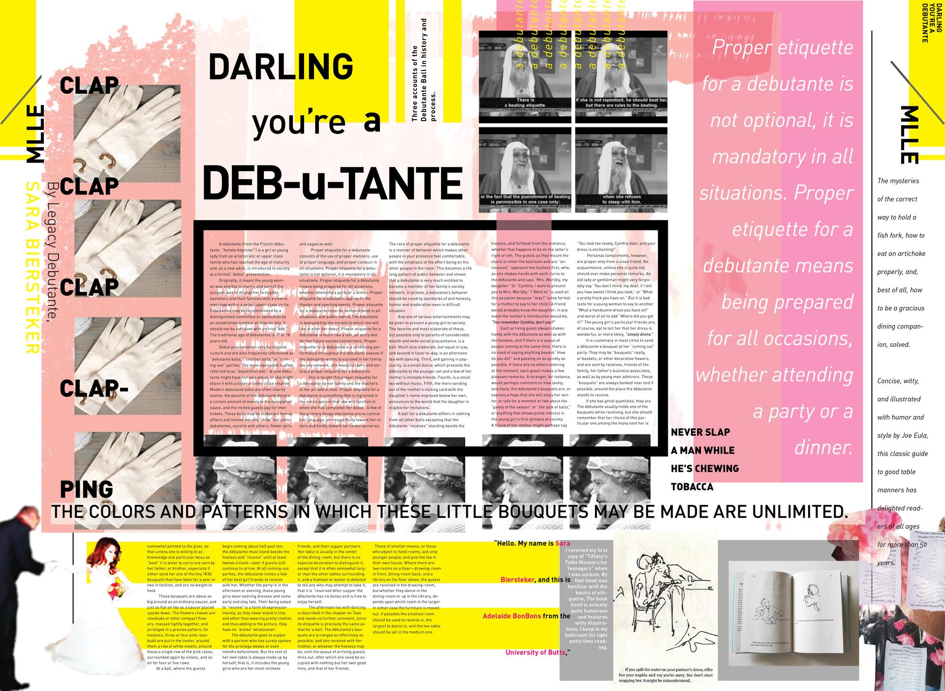 Darling You're a Debutante