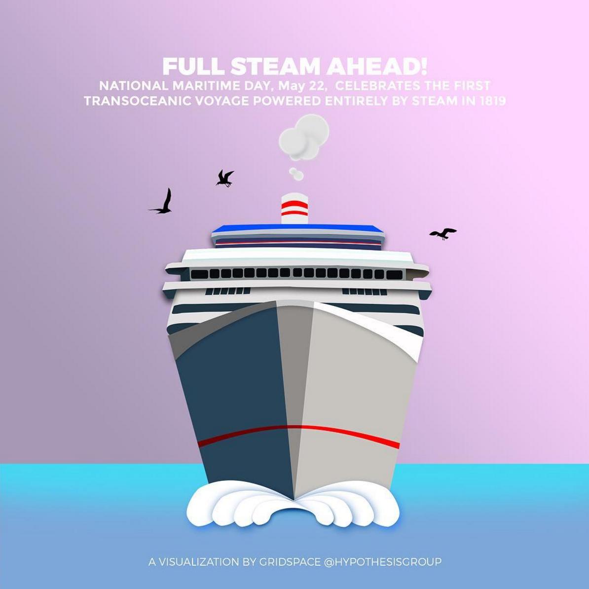 Maritime Day Digital Banner