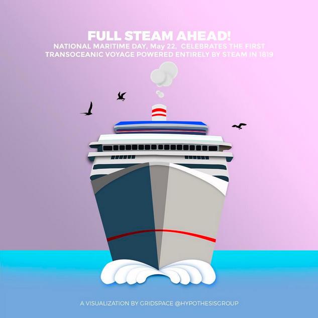 Maritime Day Illustration