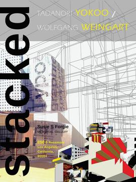 Stacked: Tadanori Yokoo and Wolfgang Weingart Exhibition Poster
