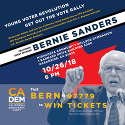 Bernie Sanders Lecture Poster