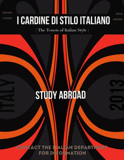 University of Wisconsin Study Abroad Poster