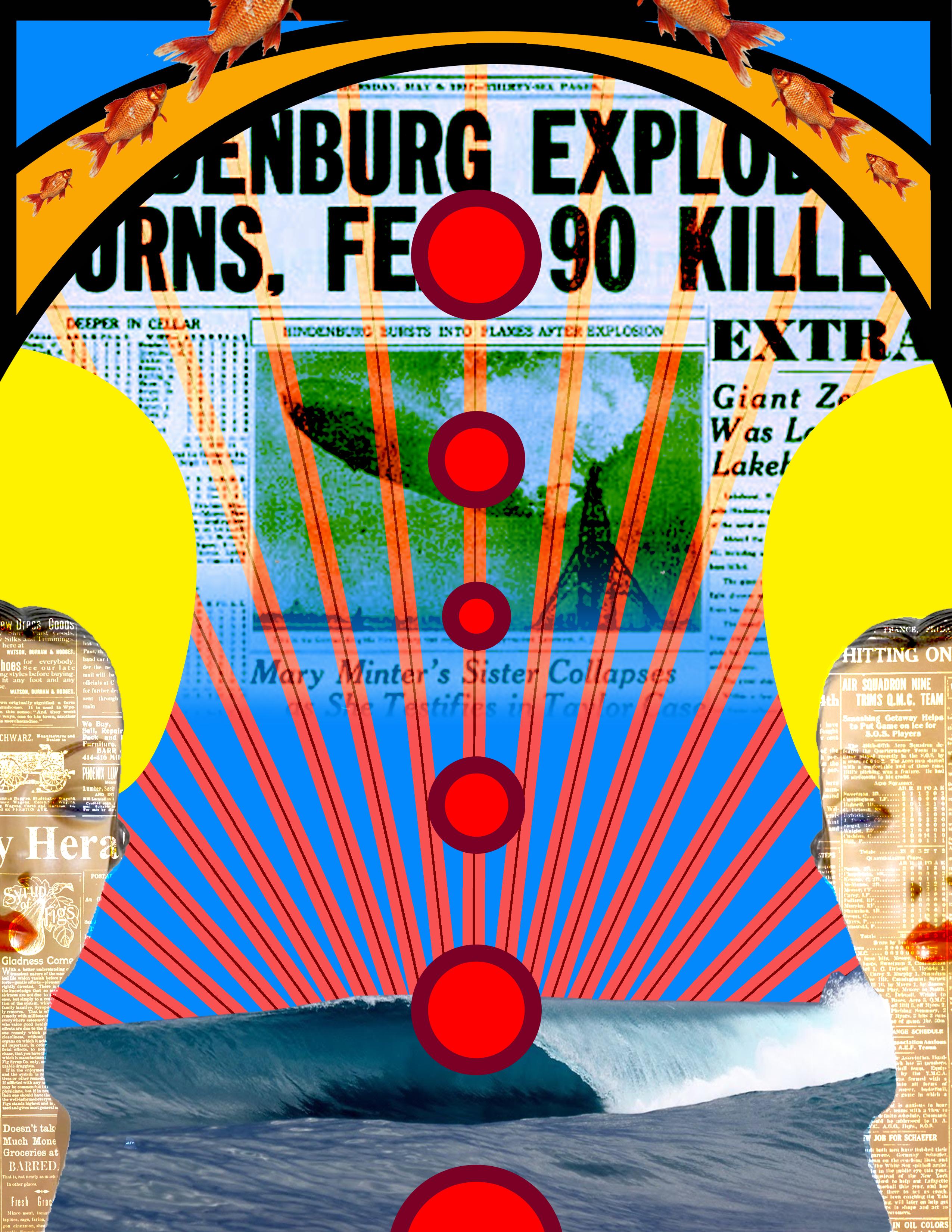 HIndenburg Digital Collage