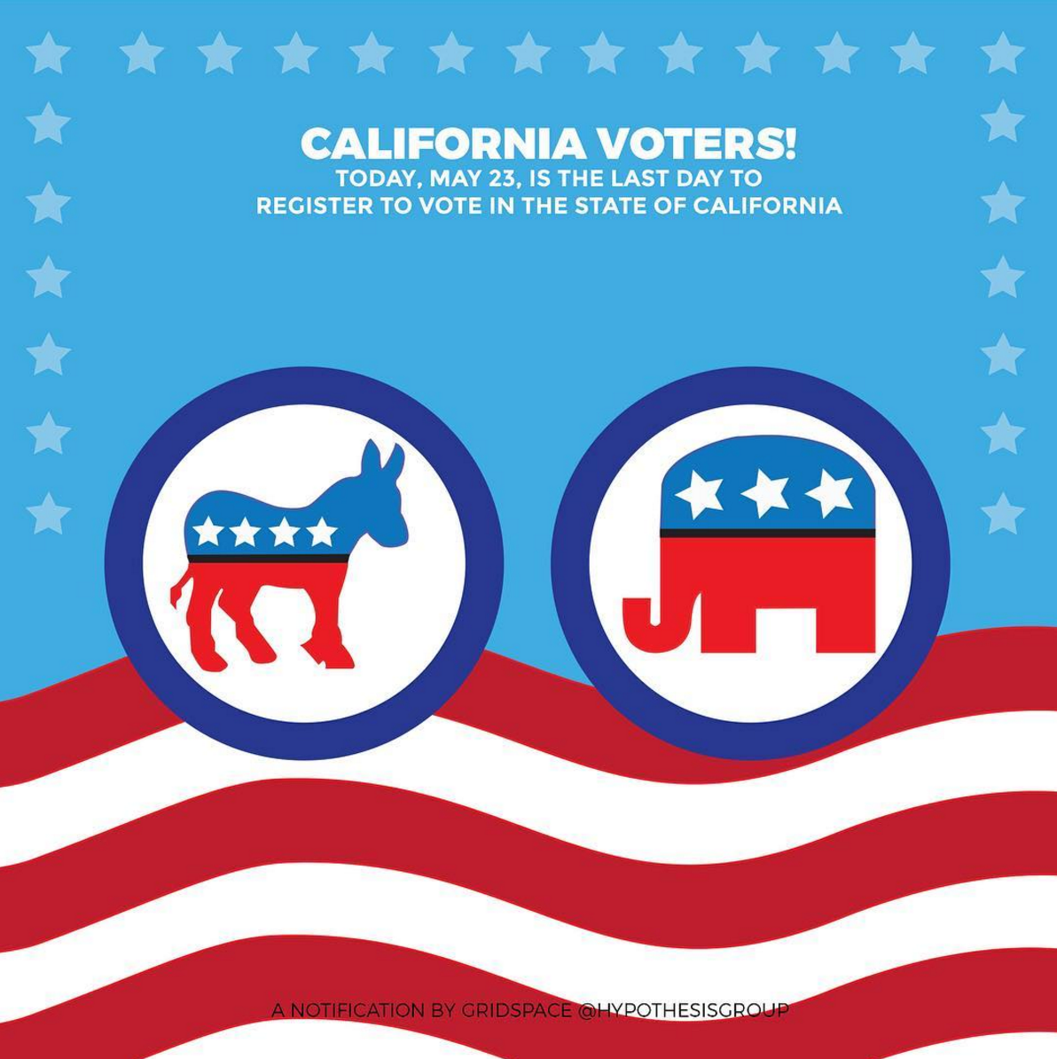 California Voter Registration Day
