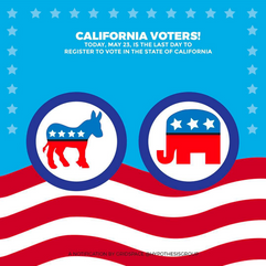 California Voter Registration Day Illustration
