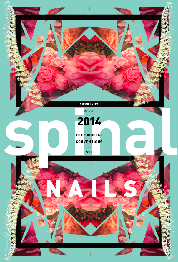 Spinal Nails Zine Cover